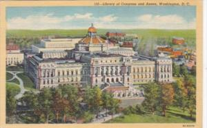 Library Of Congress and Annex Washington D C 1950 Curteich