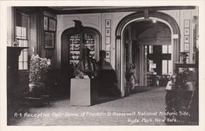 New York Hyde Park Reception Hall Home Of Franklin D Roosevelt National Histo...