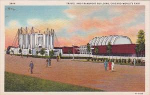 Chicago World's Fair 1933 Travel and Transport Building Curteich