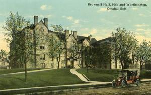 NE - Omaha. Brownell Hall, 10th and Worthington