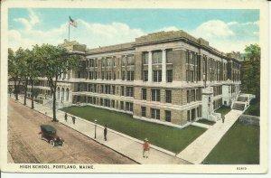 Portland, Maine, High School