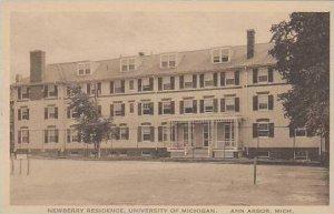 Michigan Ann Arbor Newberry Residence University Of Michigan Albertype