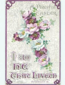 Divided-Back EASTER SCENE Great Postcard AA1521