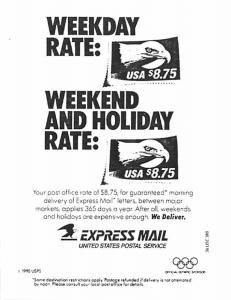 Express Mail - United States Postal Service