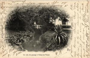 CPA Un coin de paysage a Foissy-sur-Vanne (658853)