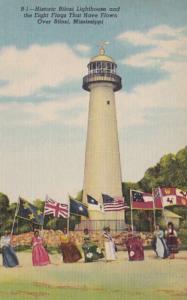 Mississippi Biloxi The Historic Lighthouse Curteich