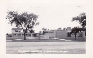 RP, WARREN, Minnesota, PU-1962; Warren Hospital