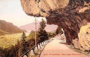 Brunigstrasse Blick gegen Breinzersee Switzerland Unused