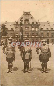 Postcard Old 8th Regiment of the Army Flag Line