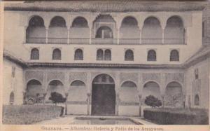Spain Granada Alhambra Galeria y Patio de los ASrrayanes