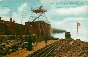 Railroad, CO, Pike's Peak, Colorado, Station on Summit