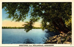 Mississippi Greetings From Hollandale