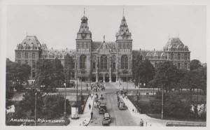 Amsterdam Museum Rijksmuseum Holland Rare Dutch Real Photo Postcard