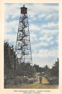 Fire Ranchers Tower Parry Sound, Ontario, Canada Fire Related Unused