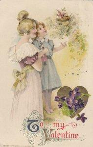 John Winsch 1911, VALENTINE ; Mother & Child