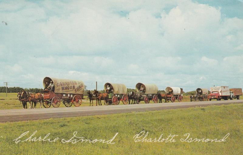 SHAUNAVON , Saskatchewan , Canada , 50-60s ; Canadian Wagon Train