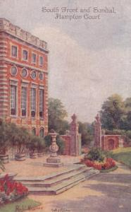 South Front & Sundial , HAMPTON COURT , UK , 00-10s
