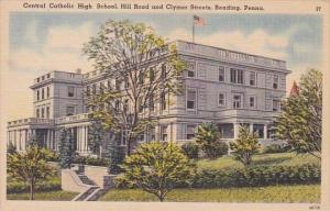 Pennsylvania Reading Central Catholic High School Hill Roade And Clymer Streets