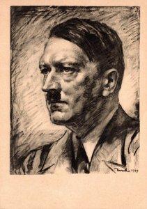 Adolf Hitler Unserer Fuehrer By Professor von Kursell 1945