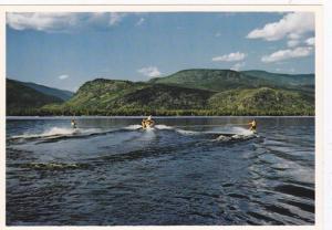 Water Skiing On Shuswap Lake, British Columbia, Canada, 1970-1980s