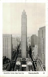 USA Rockefeller Center New York City RPPC 01.83