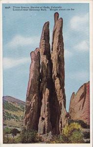 Colorado Colorado Springs Three Graces Garden Of The Gods Locatesd Near Gatew...