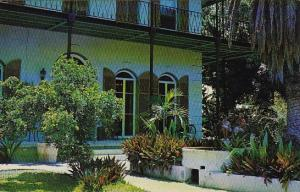 Florida Key West Ernest Hemingway's Home Where Many Of This Famous Novels Wer...
