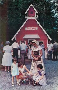 Lake George New York~Storytown USA~Little Bo Peep~Little Red School~1950s