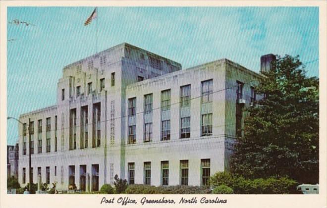 North Carolina Greensboro Post Office