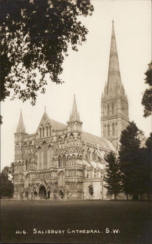 Salisbury Cathedral church UK