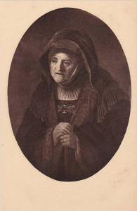 Rembrandt Portarit Of His Mother