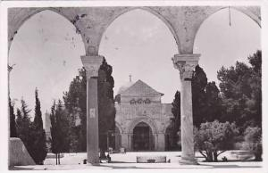 RP; Mosque of el Aksa ext , Jordan , 30-40s