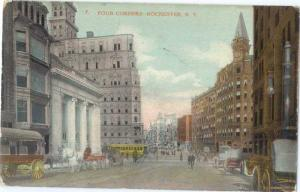 D/B Four Corner Rochester NY New York State 1910