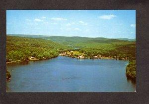 NY Tennanah Lake Roscoe New York Postcard