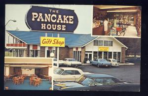 Fayetteville, North Carolina/NC Postcard, The Pancake House, Beetle, 1970's?