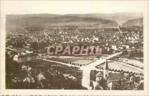 Postcard Modern Saarbrucken Totalansicht