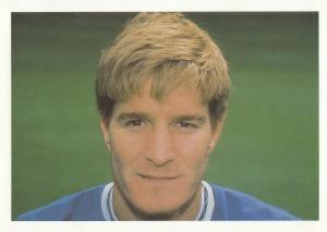 Richard Gough Rangers Football Club Defender Postcard