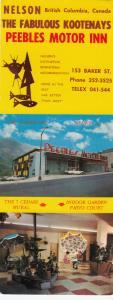 NELSON , B.C. , Canada , 50-60s ; Peebles Motor Inn