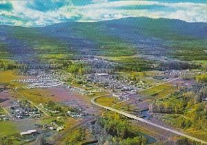 Canada British Columbia Houston Aerial View