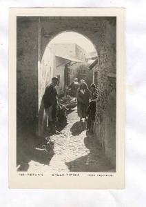 RP; TETUAN , MOrocco, 30-50s : Calle Tipica