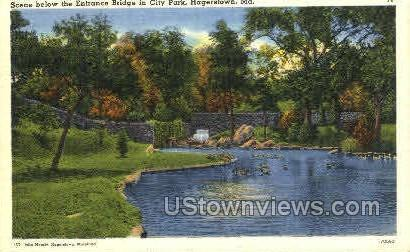 City Park Hagerstown MD Unused