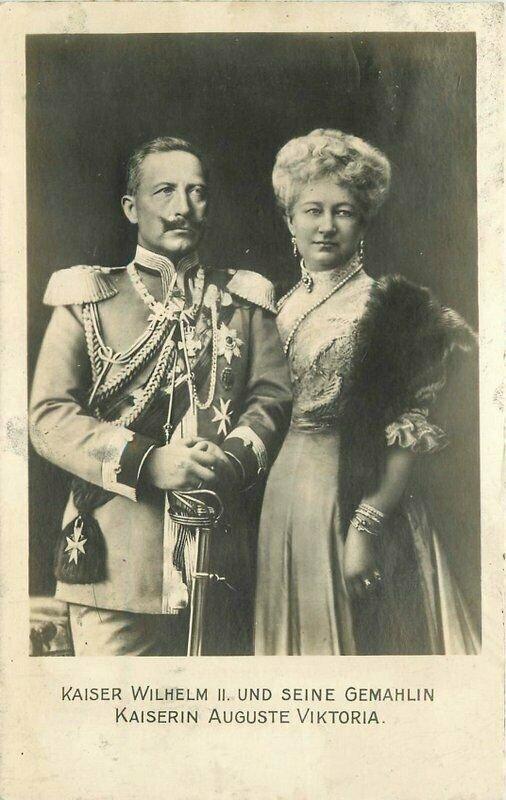 C-1910 Kaiser Wilhelm German Royalty RPPC Photo Postcard 20-13661