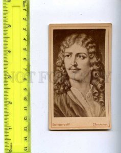 206278 MOLIERE French playwright and actor Vintage CDV card