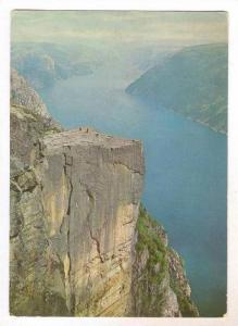 Norge: Prekestolen i Lysefjord, PU-1964