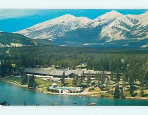 Unused Pre-1980 JASPER PARK LODGE MOTEL Jasper Alberta AB o0323