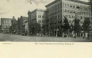 PA - Reading, View of Penn Street from 5th Street