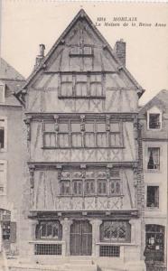 France Morlaix La Maison de la Reine Anne