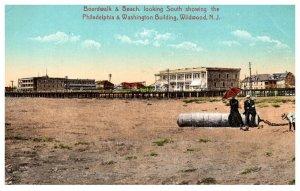 New Jersey Wildwood Boardwalk & Beach South