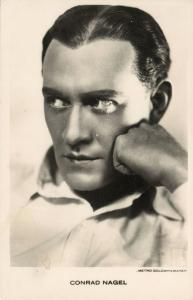 Movie Film Actor CONRAD NAGEL (1930s) RPPC Metro-Goldwyn-Mayer