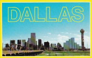 Texas Dallas Skyline